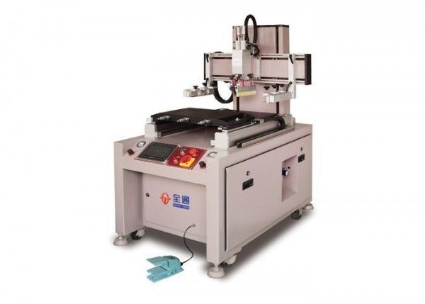 Movable Door Screen Printing Machine